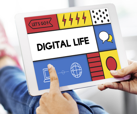 Digital Life Modern Technology Concept Stock Photo