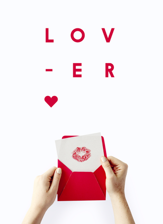 I Love You Beloved Concept Stock Photo