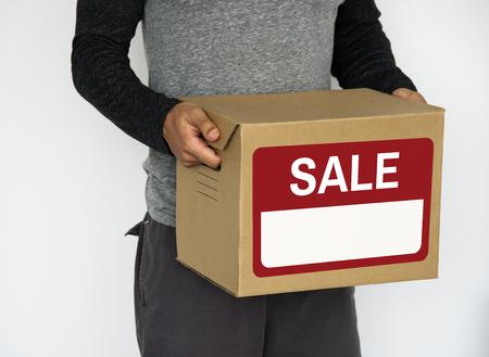 Vendita offerta speciale offerta vendita sconto Archivio Fotografico - 78315447