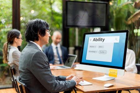 skills diversity: Career Experience Knowledge Skils Graphic Words