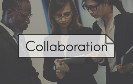 Business Teamwork Teamup Strategie Planning Stockfoto
