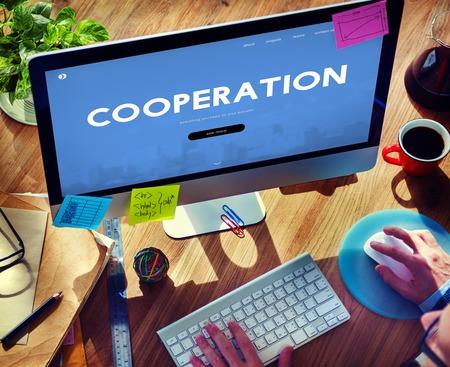 Cooperation Organization Unity Association Business Stock Photo