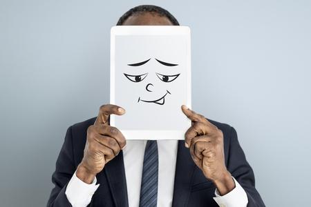 Tekening Gezichtsuitdrukkingen emoties gevoel