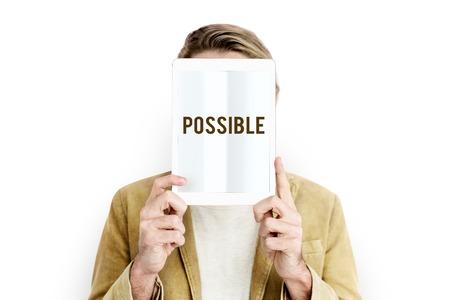 Possibility Desirable Feasible Probability Icon Stock Photo