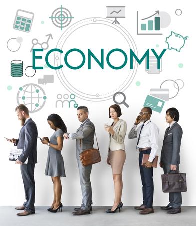 Finanzwirtschaft Handel Handel Geschäft Standard-Bild - 78318484