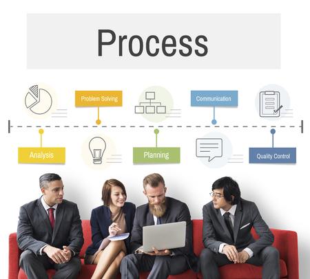 skills diversity: Operation Process Performance Development Icon