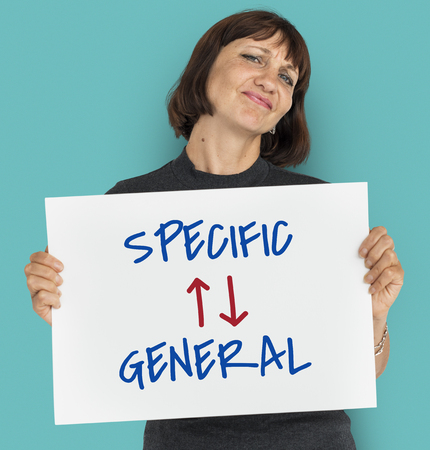Information Antonyms Specific General Illustration