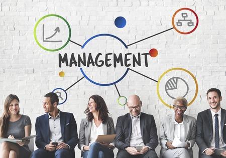 Gestion business efficacité organisation concept Banque d'images - 78319583