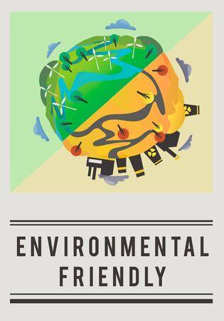 Bewaar World Planet Earth Concept