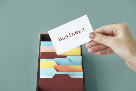 hand holding paper: Marketing Branding Creativity Business Values Stock Photo