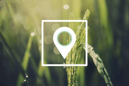 Afstandsmeter GPS Global Positioning System