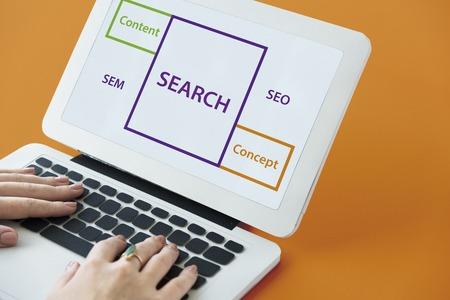 검색 SEO 콘텐츠 단어 상자