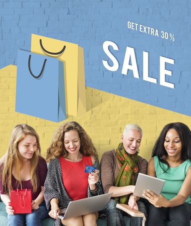 Season of Sale Promotion Clearance Best Offer Concept Stock Photo - 78401823