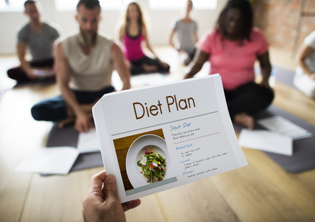 Wellness Diet Plan Healthy Living Icon Banco de Imagens