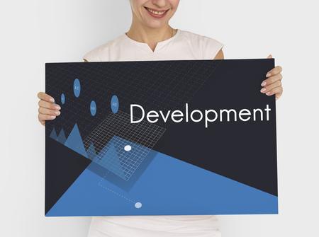 Business Analysis Strategy Management Development Graphic Word Stock Photo