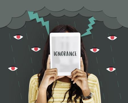 Hatred Frustration Ignorance Animosity Concept