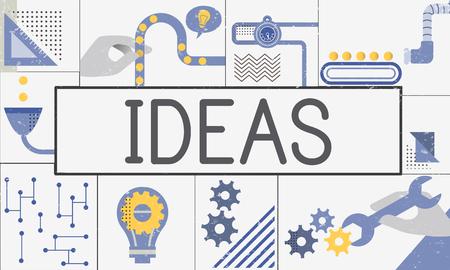 Fabricage Productie Industrie Ideeën Concept Stockfoto - 78402698