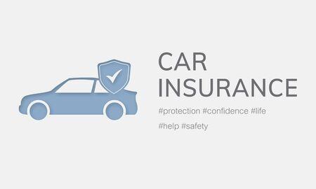 Car Insurance Coverage Accident Benefits Фото со стока - 78402909