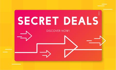 비밀 거래 프로모션 소매 판매자