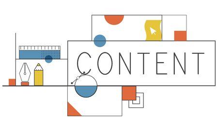 Creatief ontwerp Creativiteit tekenconcept
