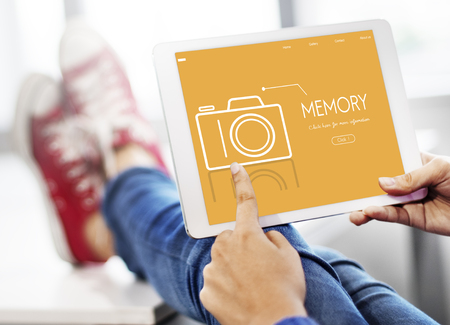Photo Contest Passion Image Memory Word Stock Photo