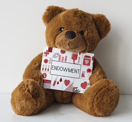 Bear Show Blood Donation Placard Graphic