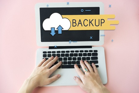 Cloud Computing Network Technology Stok Fotoğraf
