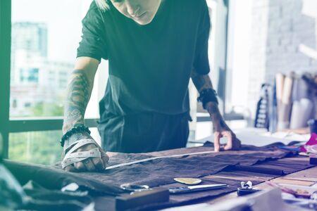 messy clothes: Gradient Color Effect Photo Fashion Designer Job