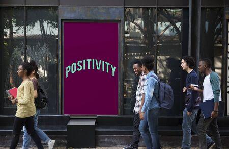 dont walk: Attitude Life Motivation Inspire Achievement Stock Photo