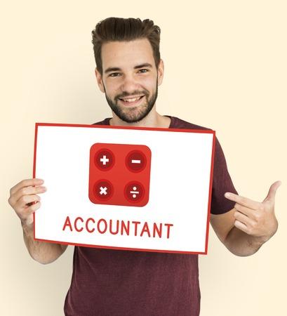 Accountant Mathematics Financial Commerce Calculating