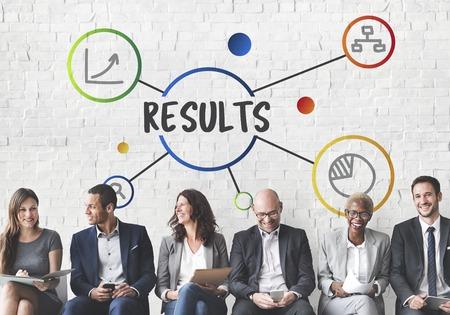 Business Result Diagram Illustration Concept Stock Illustration - 78469369