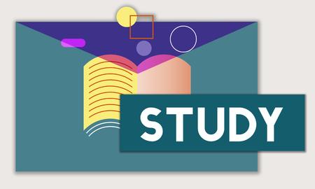 교육 지식 습득 WIsdom Literacy 교과서 스톡 콘텐츠 - 78475130