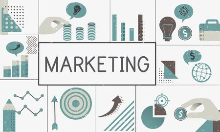 Illustration of financial marketing business plan