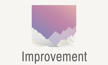 Improvement concept Stok Fotoğraf
