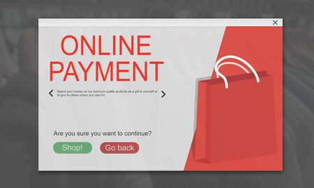 Online Shopping Cart E-Commers Concept Stock Photo - 78474977