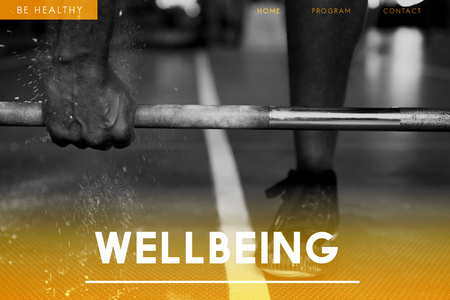 Wellbeing concept with background 스톡 콘텐츠