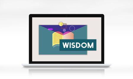 교육 지식 습득 WIsdom Literacy 교과서 스톡 콘텐츠 - 78476930