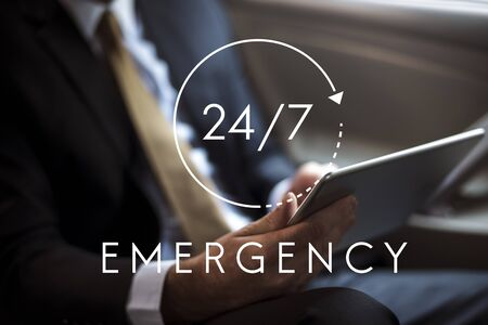 247 Emergency Hotline Access Overlay