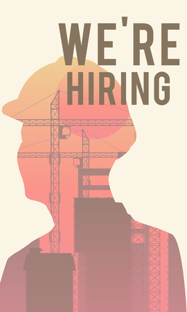 Were hiring poster concept