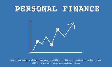 Stock Market Exchange Economics Investment Graph Фото со стока - 78477205