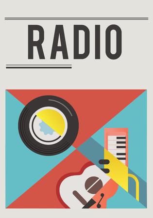 Illustration of music audio passion leisure activity