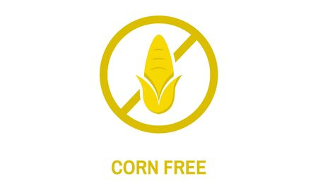 Corn Free Healthy Lifestyle Concept
