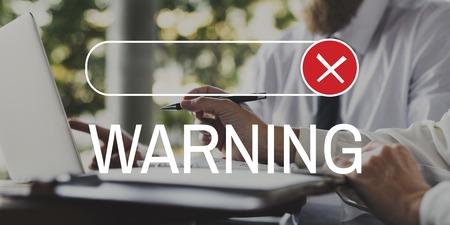 Prohibido rechazado rechazar negar gráfico Foto de archivo