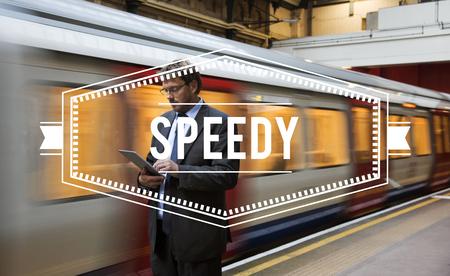 Rush Speedy Deadline Busy Schedule