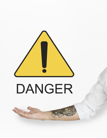 Danger Hazard Risk Unsafe Warning Threat