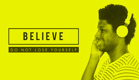 Believe Success Motivation Support Slogan Stok Fotoğraf - 78685824