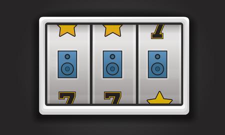 Slot Machine Game Music Symbols Imagens