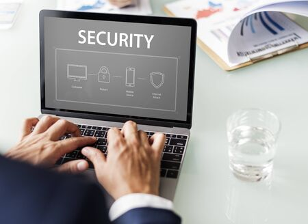 safekeeping: Security protection surveillance system Stock Photo