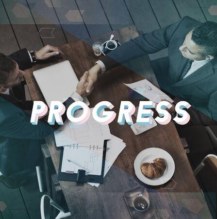 Progress Improvement Mission Change Business Imagens - 78658230