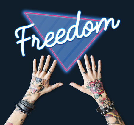 Free Freedom Liberty Triangle Graphic Stock Photo